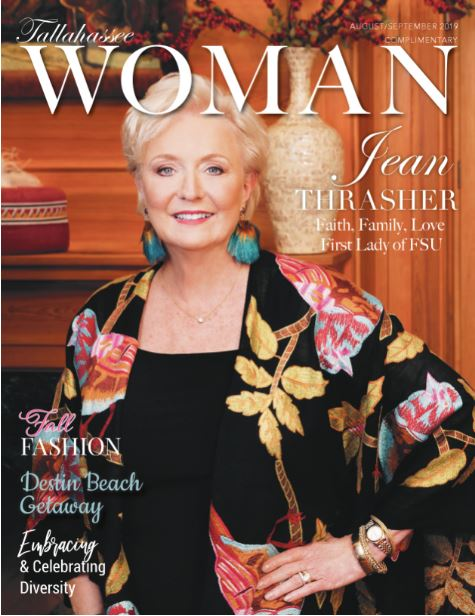 August-September 2019 issue Tallahassee Woman Magazine